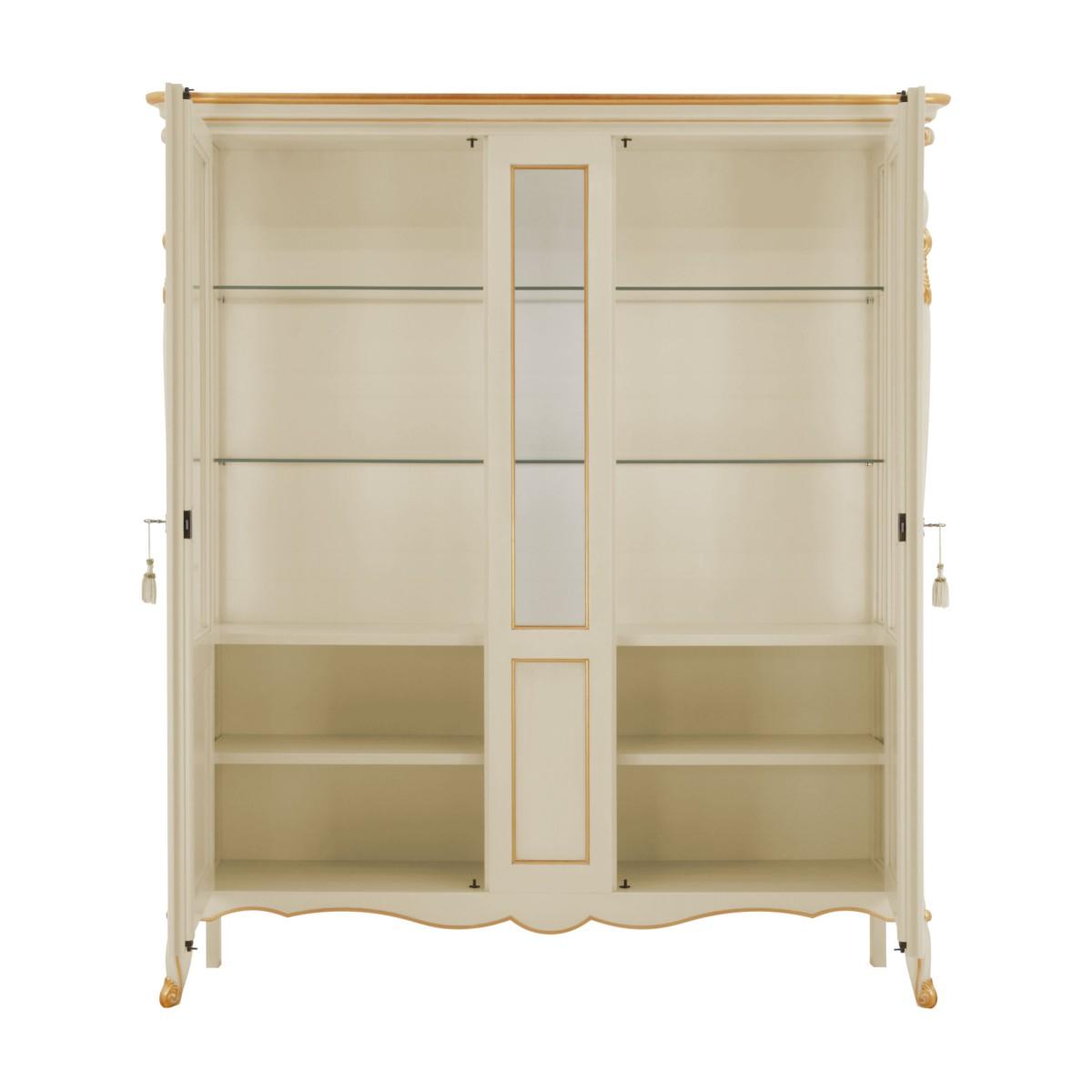 italian classic glass cupboard cinzia 2 8510