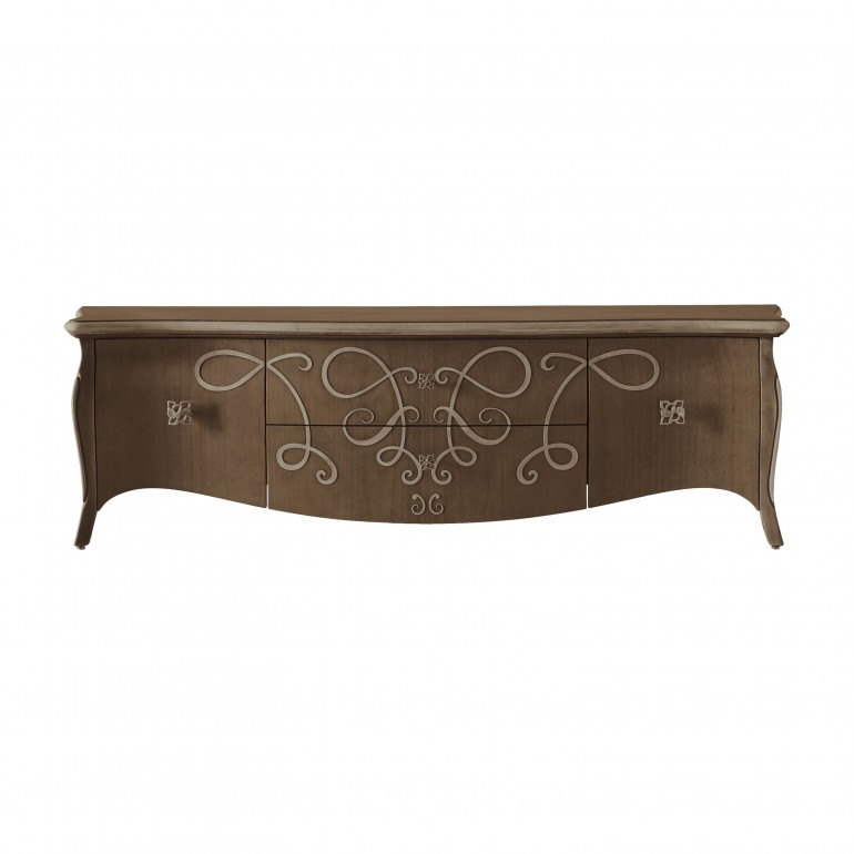 classic style wooden tv unit