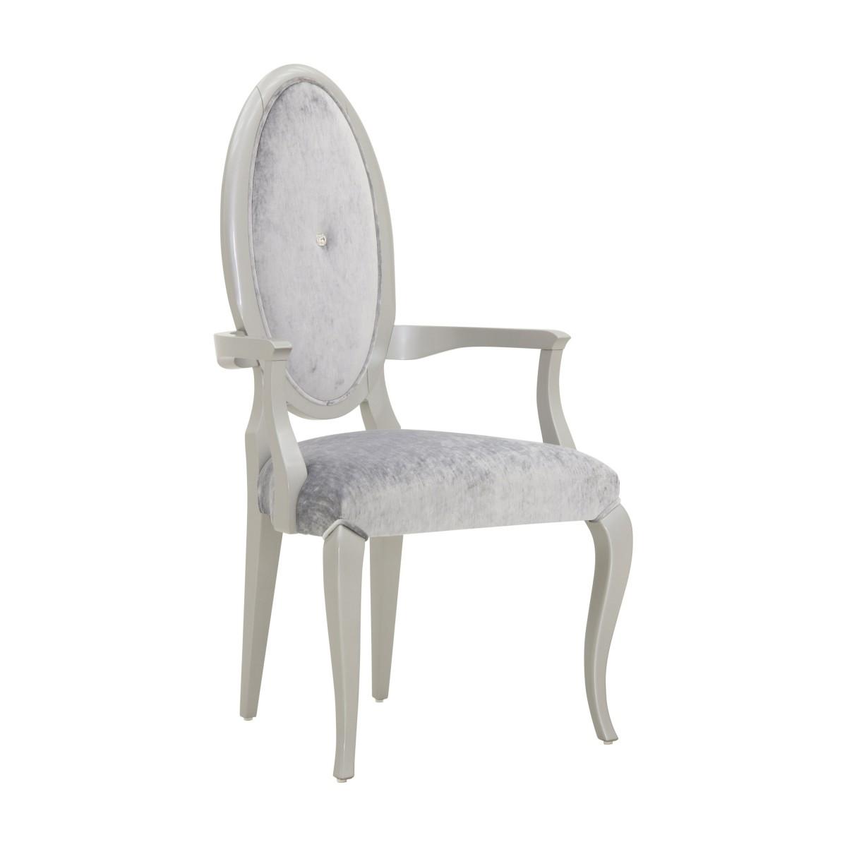 italian contemporary armchair capriccio 7293