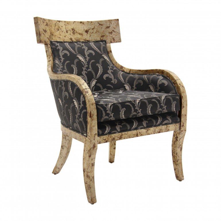 italian contemporary armchair taura 9820