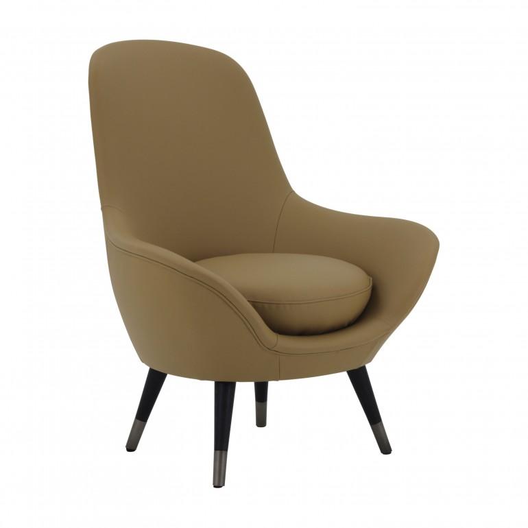 italian modern armchair club 4613