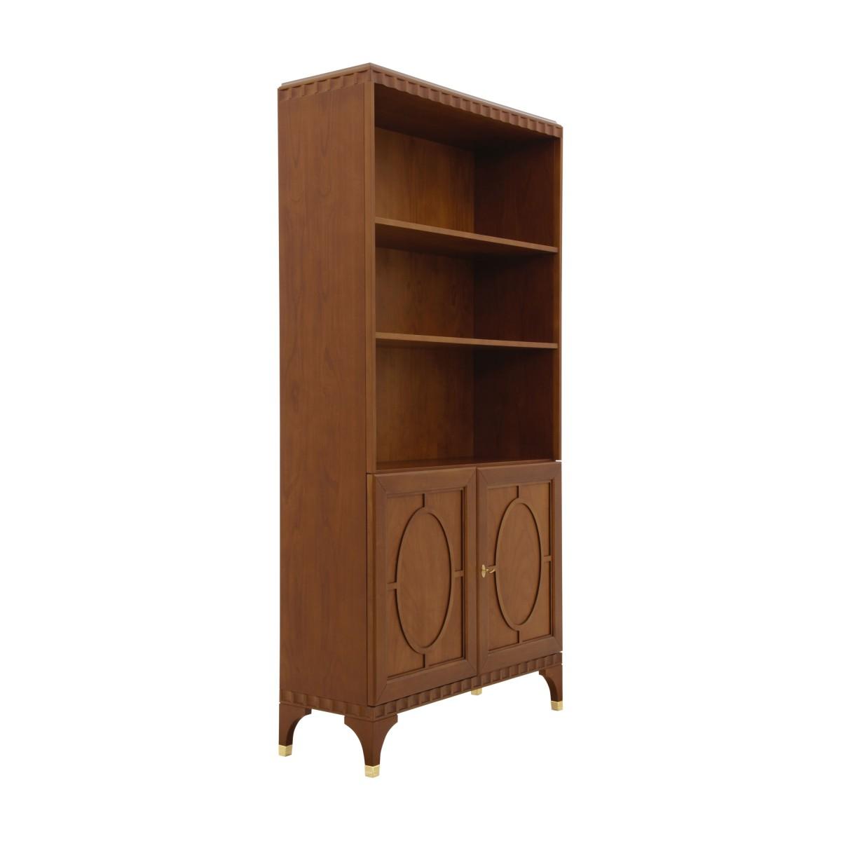 italian modern bookcase ellipse 1 9362