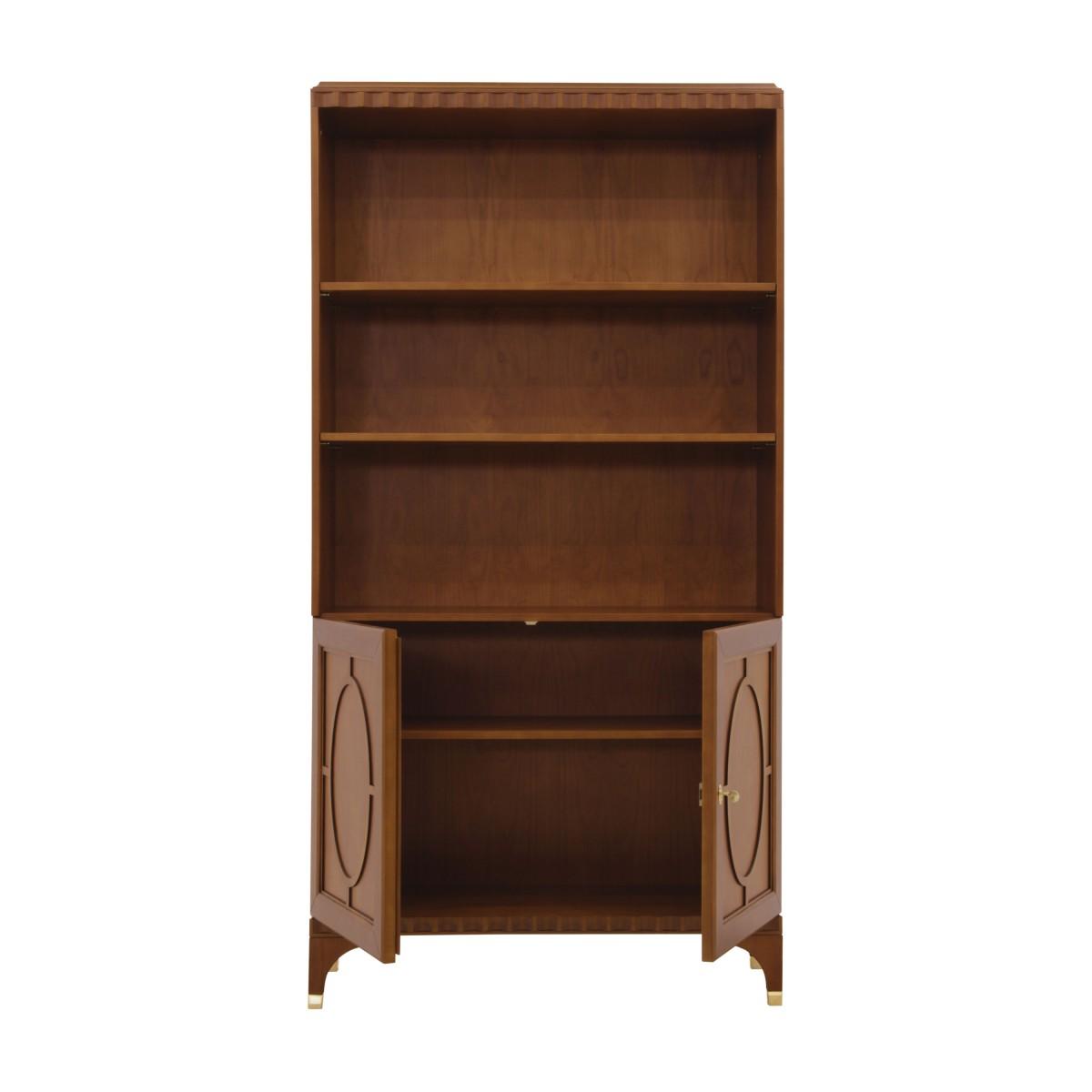 italian modern bookcase ellipse 2 9369