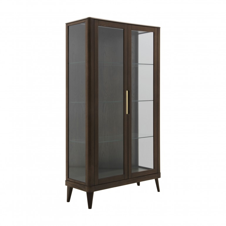 italian modern glass cupboard ada 1805