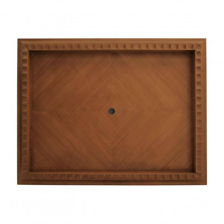 modern style wooden tv unit