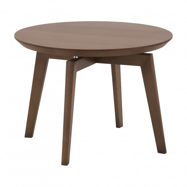 contemporary style small wooden table