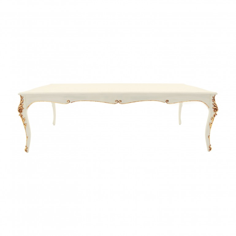 baroque style wooden table