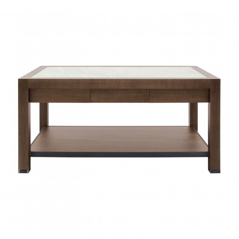 modern style wooden counter