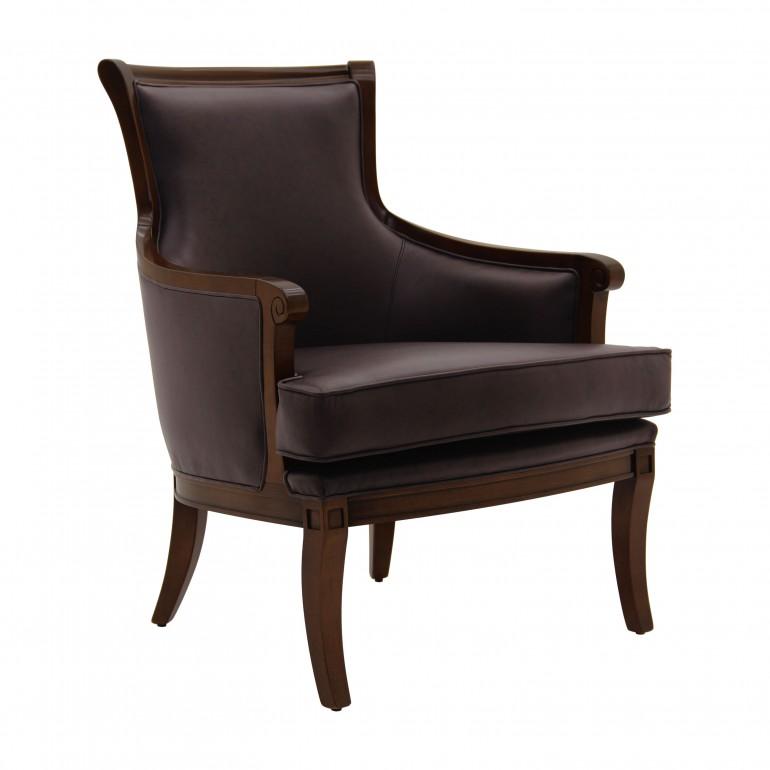 leather armchair alsazia 8463