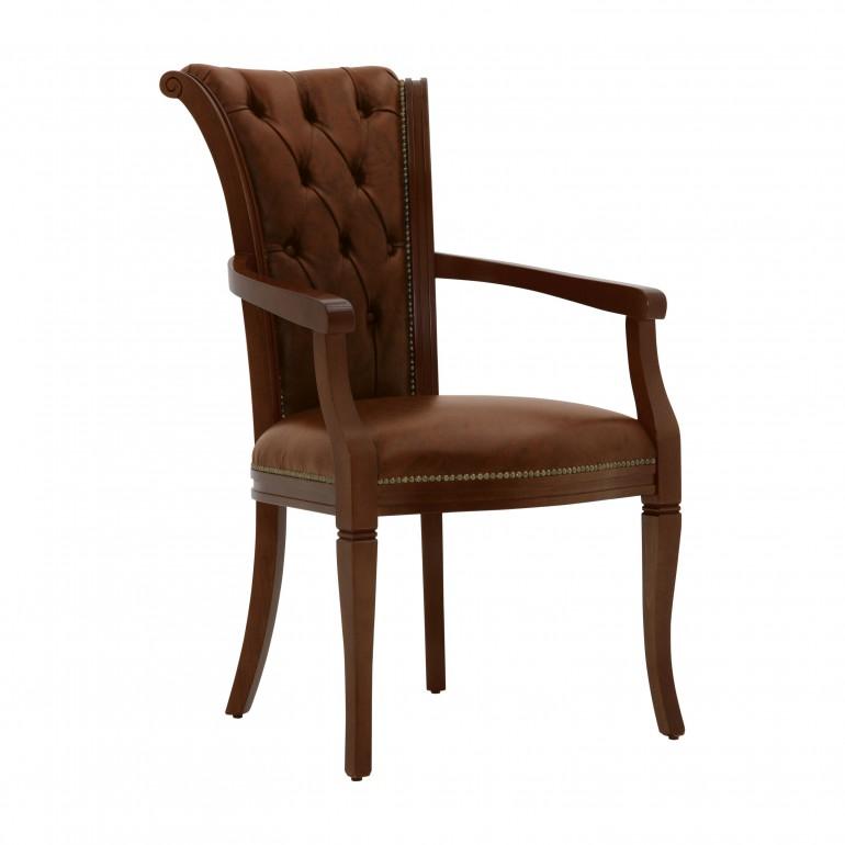 leather armchair york 6380