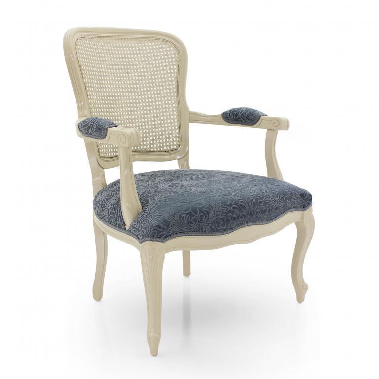 luigi xvi style wood armchair astrid 1705
