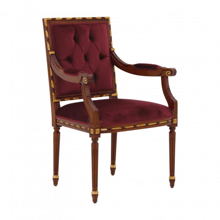 luis style armchair adriana 5298