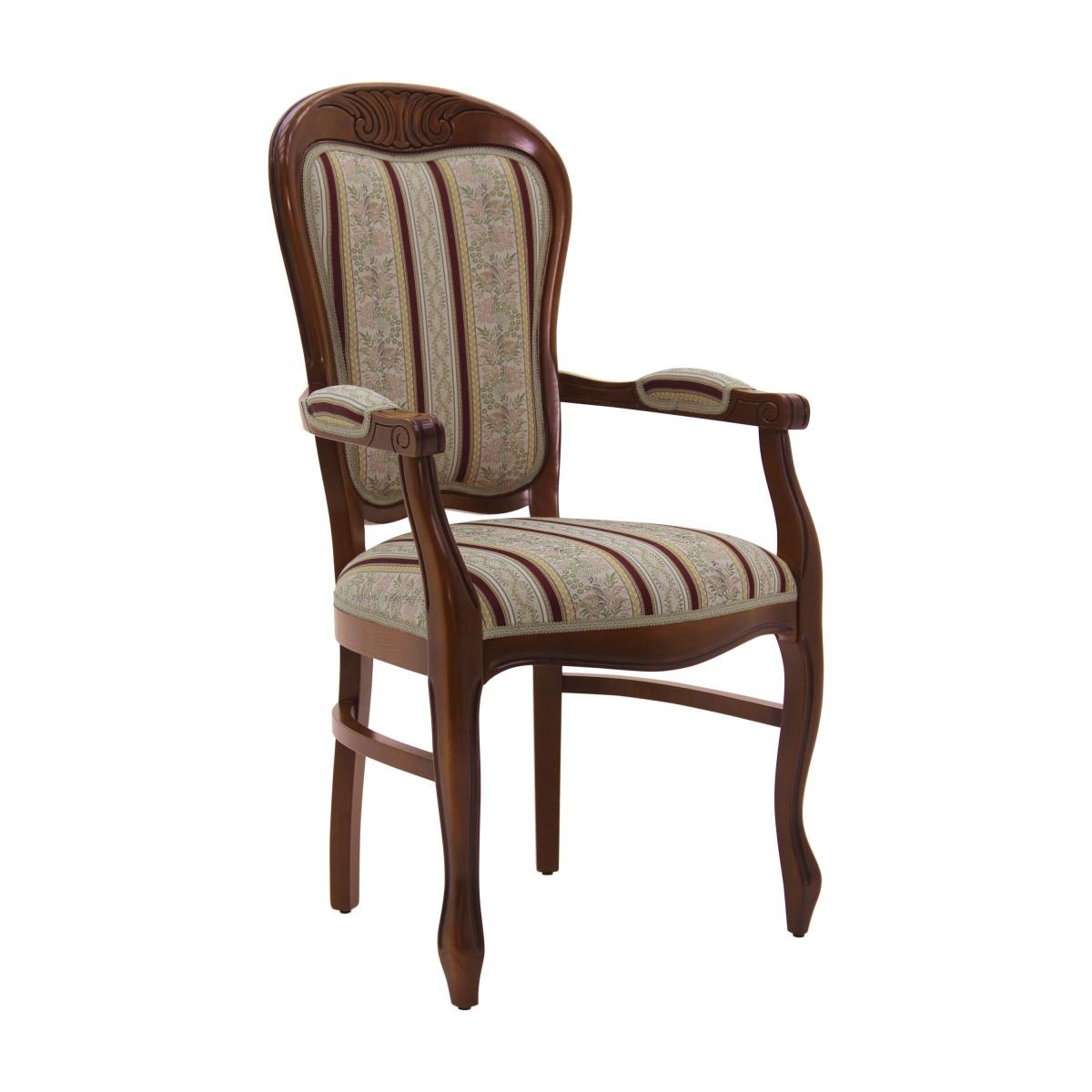 luis style armchair teseo 5105