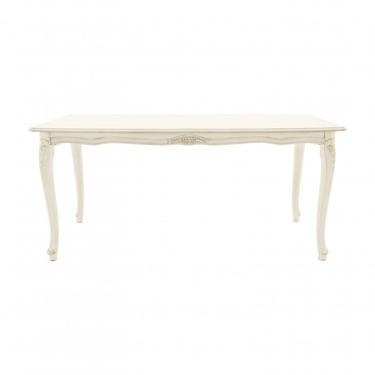classic lacquered wooden table