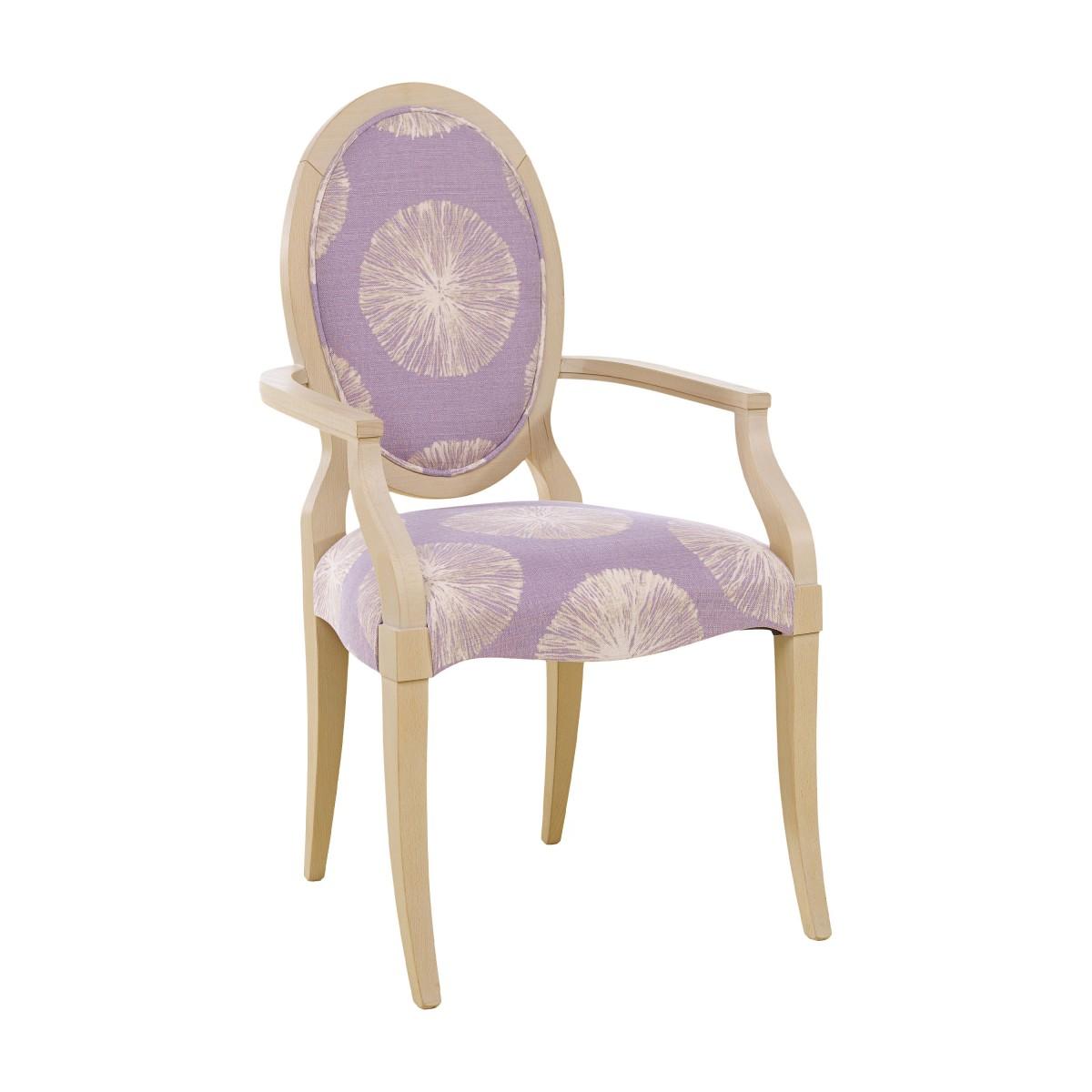 modern armchair matilde 6639