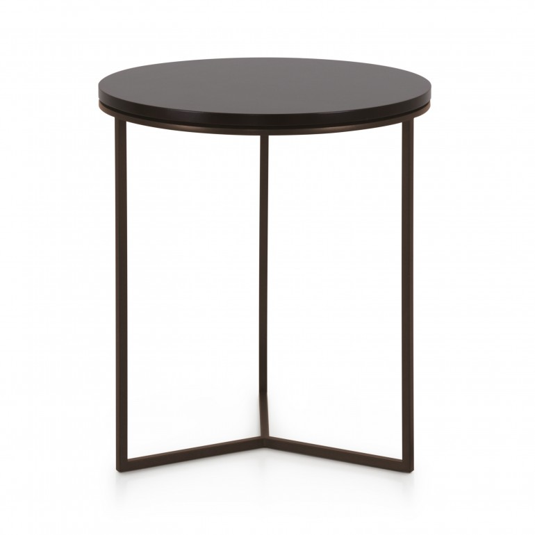 contemporary style  small table with metal structure