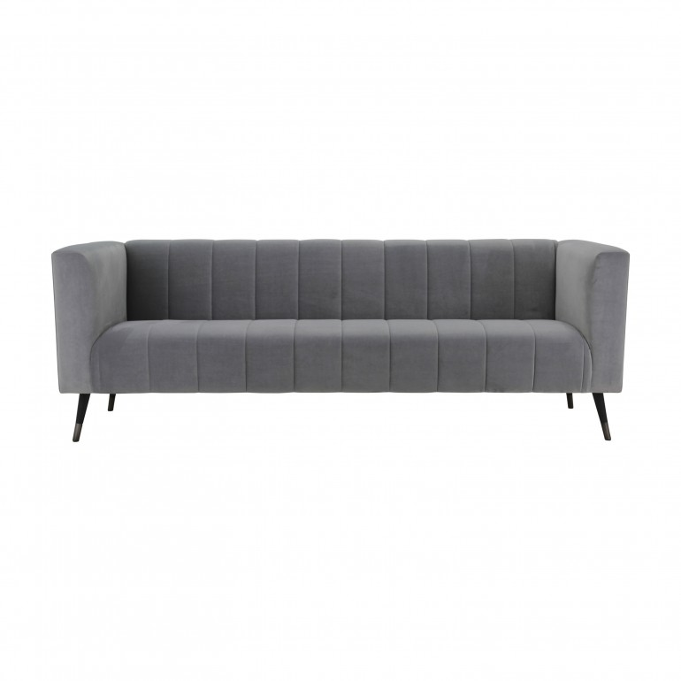 contemporary style fabric 4 seater sofa