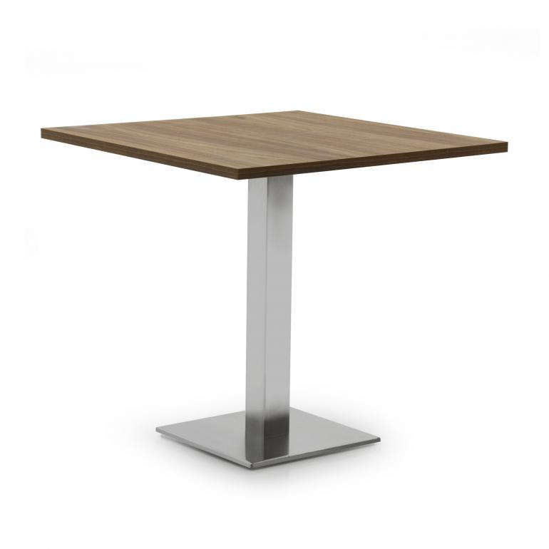 modern style table with laminate top