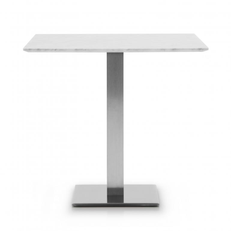 modern style marble top table