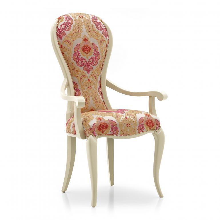 modern style wood armchair alina 7799