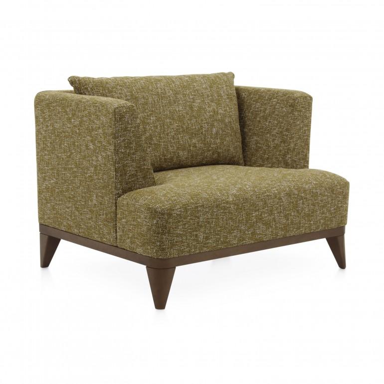 modern style wood armchair celine 5156