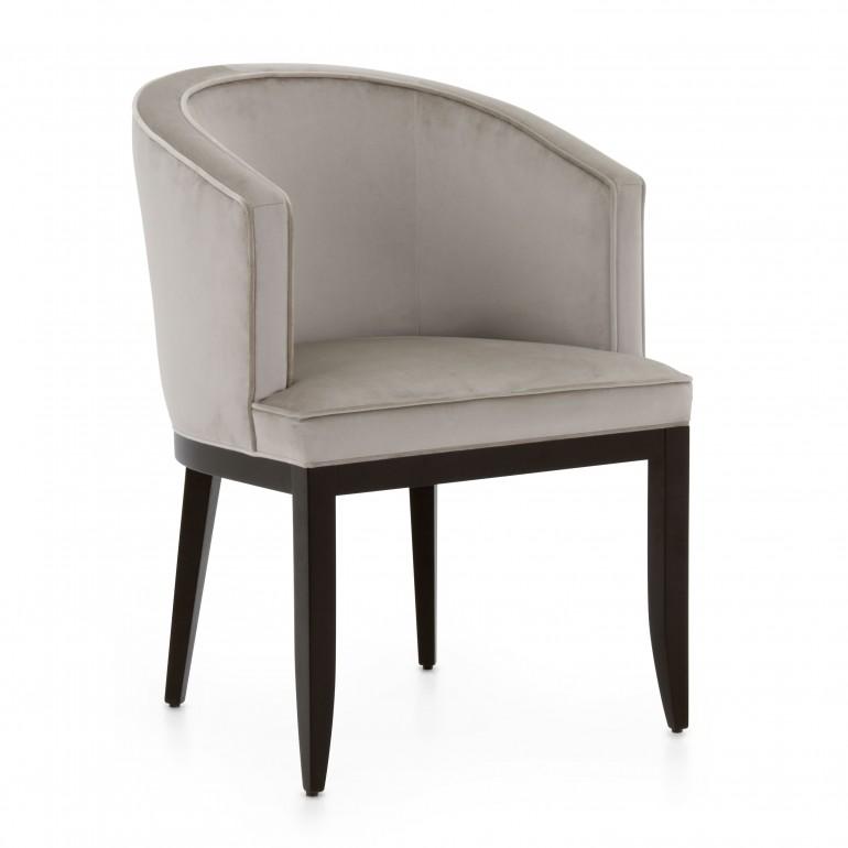 modern style wood armchair dalila 4853