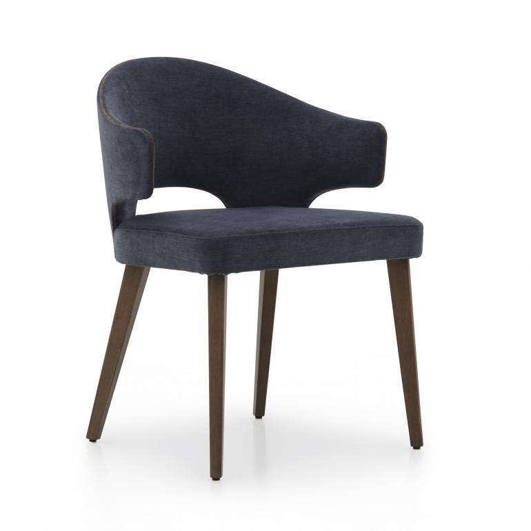modern style wood armchair eva 7405 6950