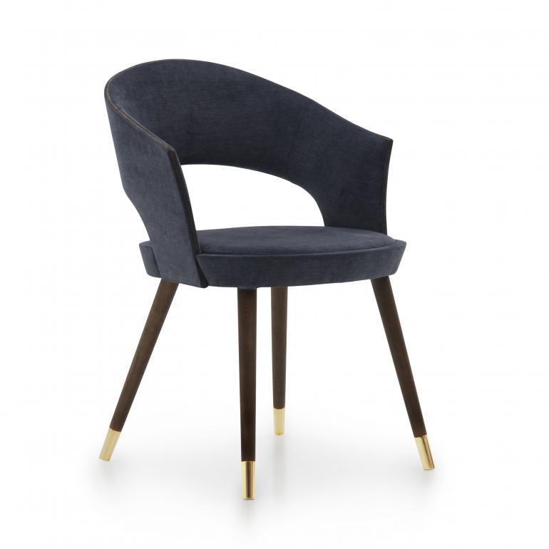 modern style wood armchair lucrezia 9519 6463