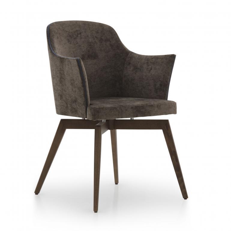 modern style wood armchair marta 5977 5907