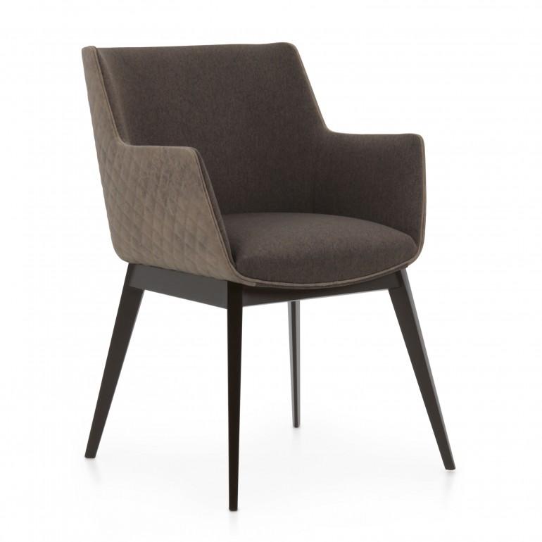 modern style wood armchair melania b 8584 3776