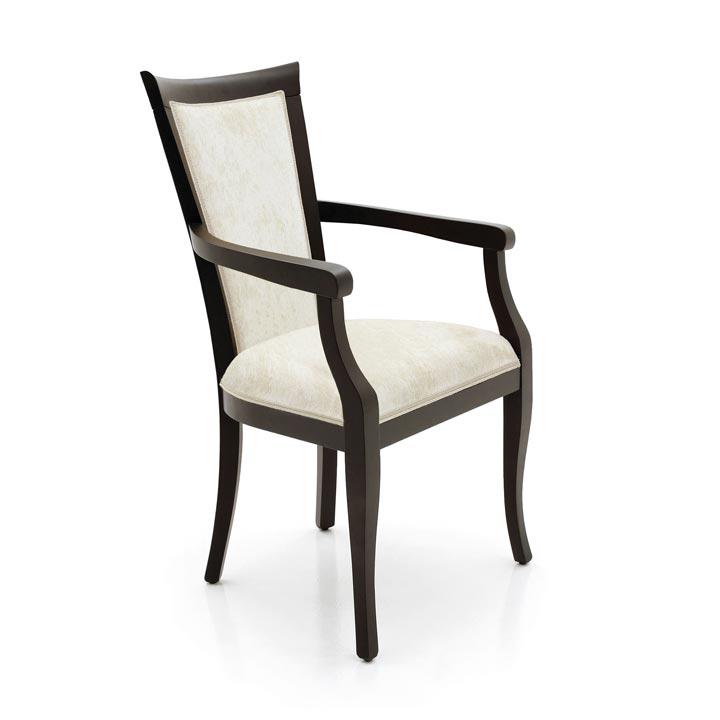 modern style wood armchair milano 24 2006
