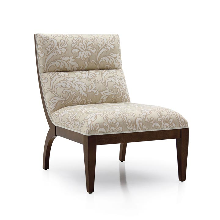 modern style wood armchair monica 7487
