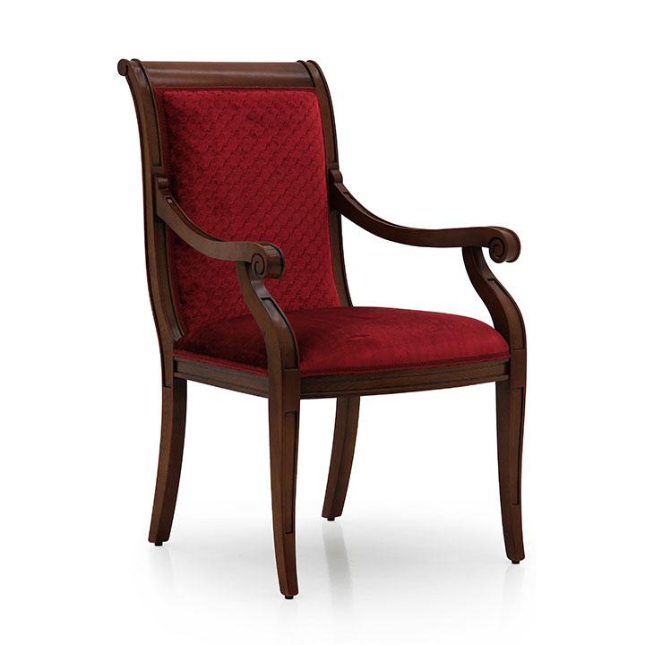 modern style wood armchair torino 38 1233