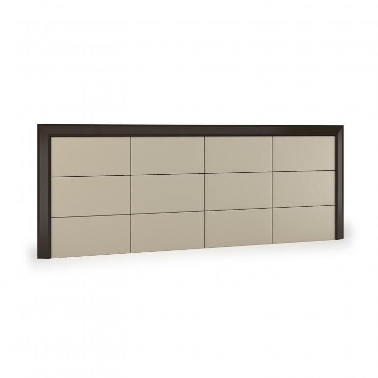 testata letto legno stile moderno