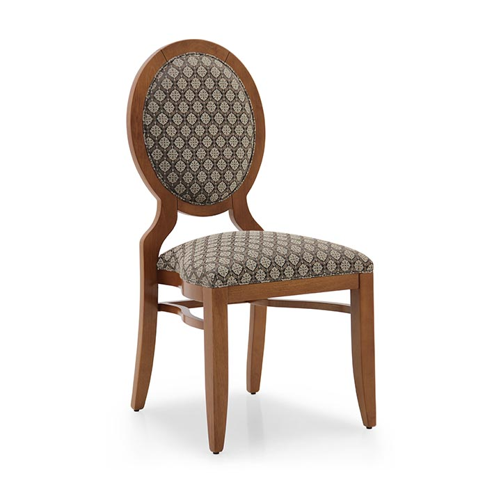art deco style wooden chair