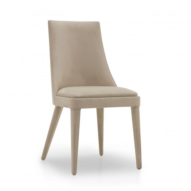 modern style wood chair norvegia 6427