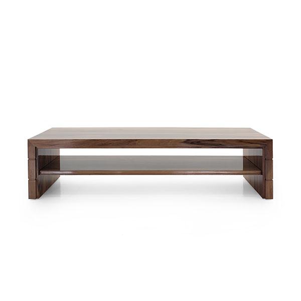 modern style wood coffee table artema 8852
