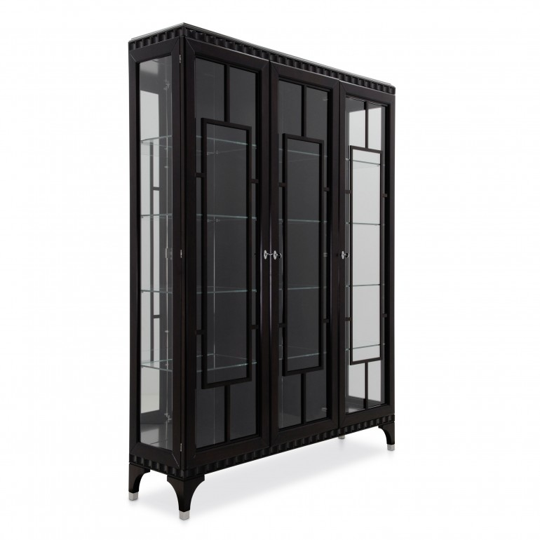 modern style wood glass cupboard custom035 2332