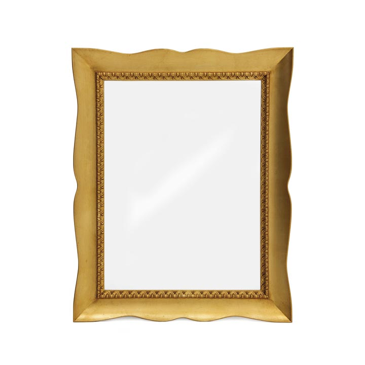 modern style wood mirror apollo 3129