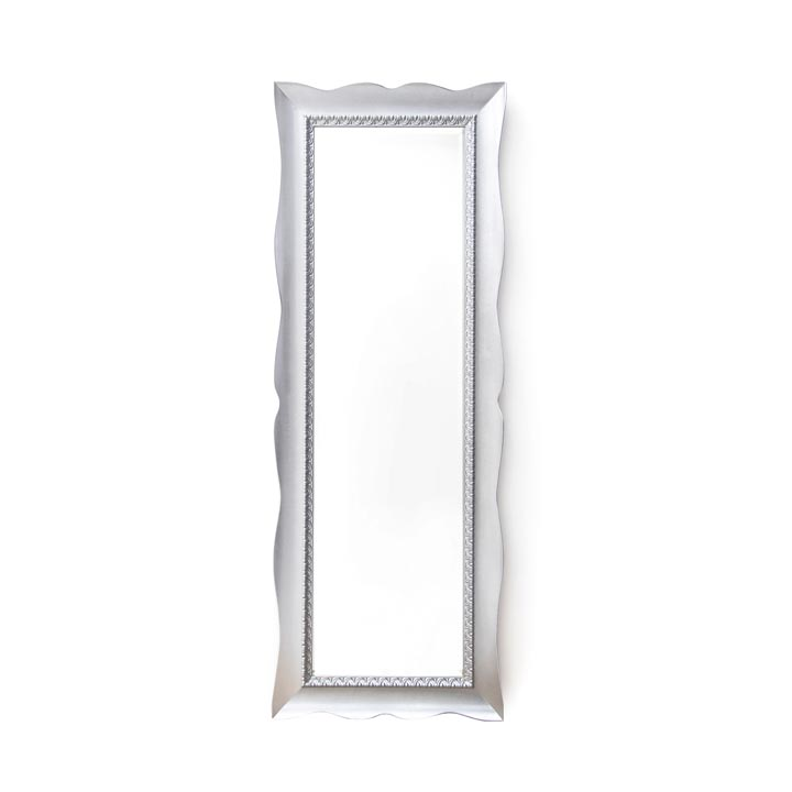modern style wood mirror fluctus 421