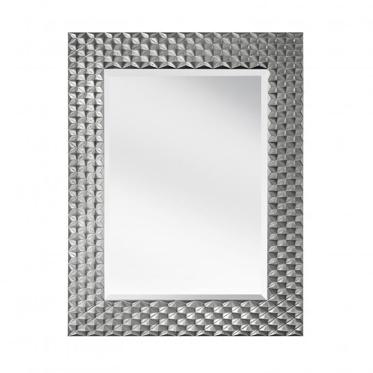 modern style wooden mirror