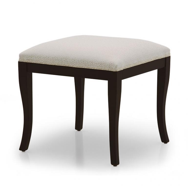 modern style wood ottoman radica 31 2985