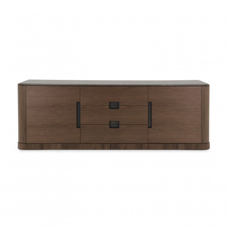 credenza legno stile moderno