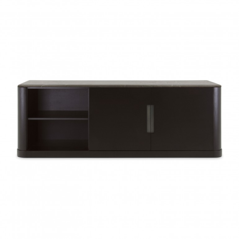 modern style wooden sideboard