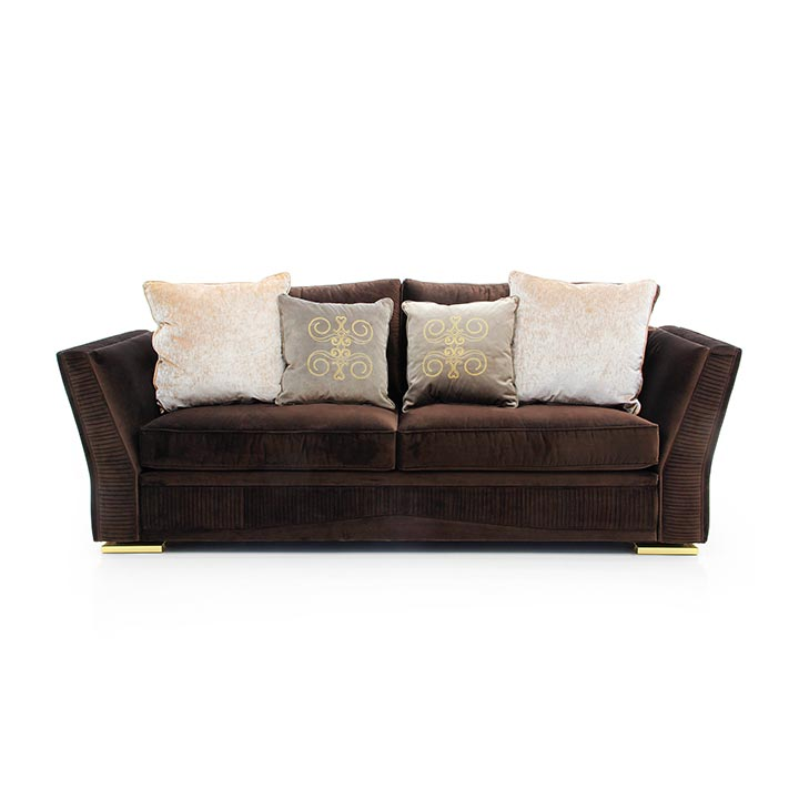 modern style wooden sofa
