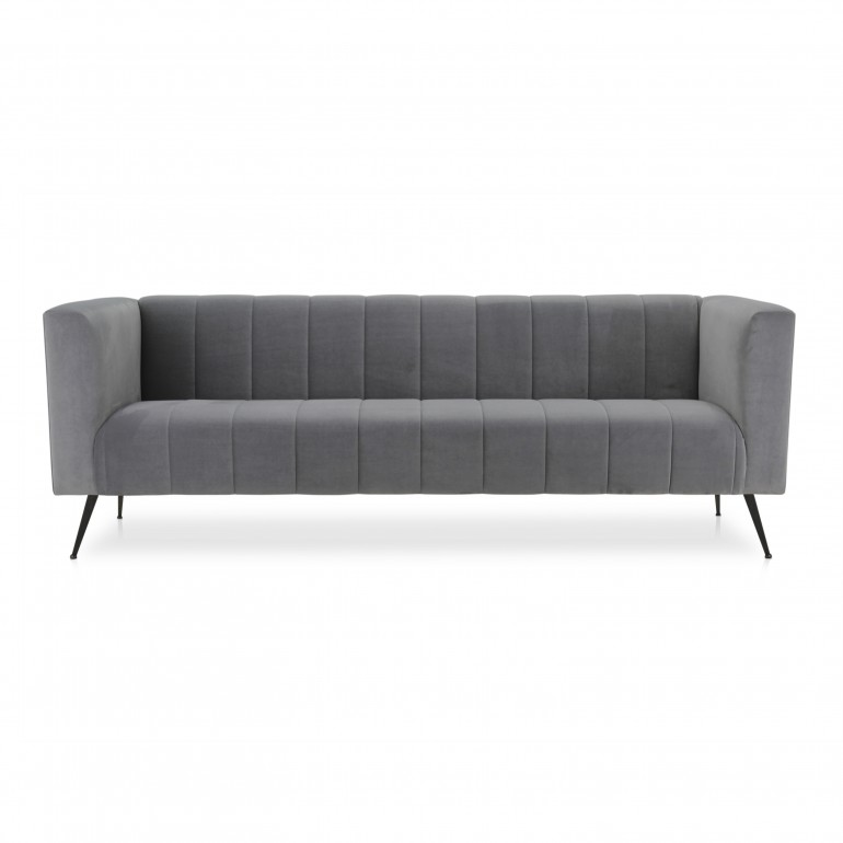 contemporary style fabric sofa
