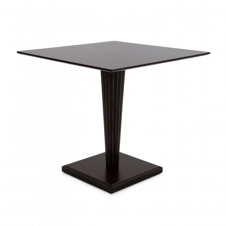 contemporary style wooden table