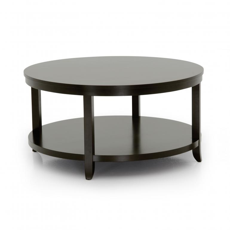 contemporary style wooden coffee table