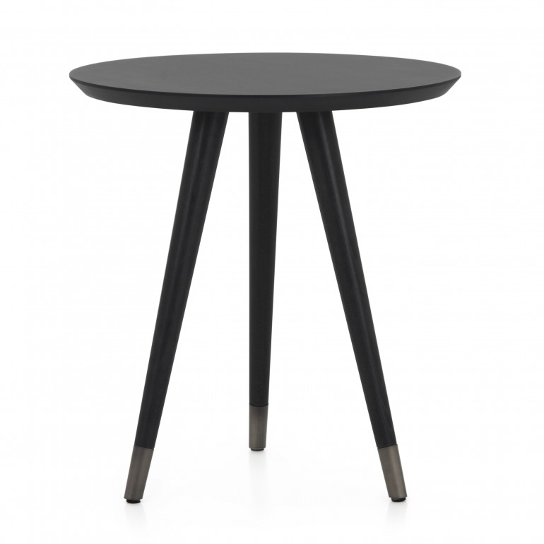 contemporary style small metal table