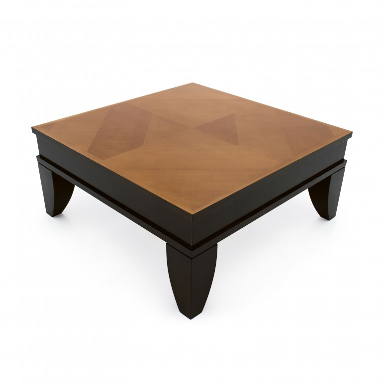 classic style wooden coffee table